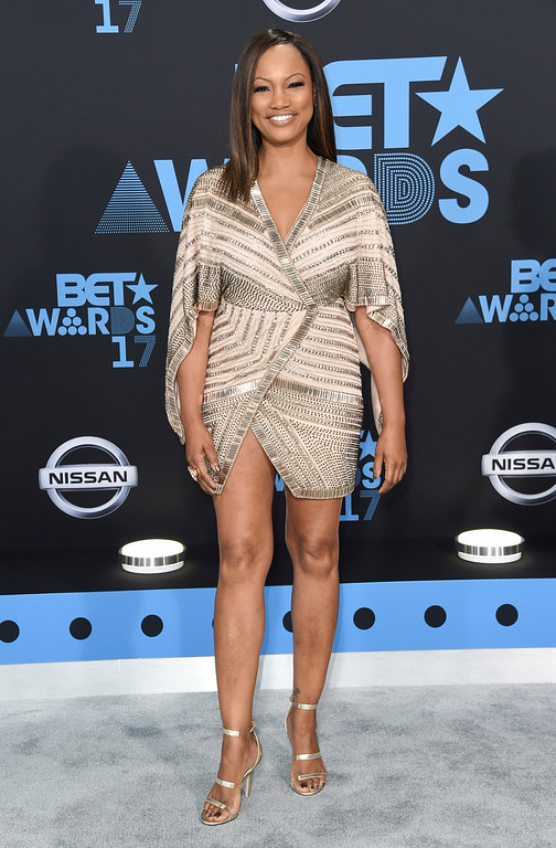 . Garcelle Beauvais arrives at the BET Awards at the Microsoft Theater on Sunday, June 25, 2017, in Los Angeles. (Photo by Richard Shotwell/Invision/AP)
