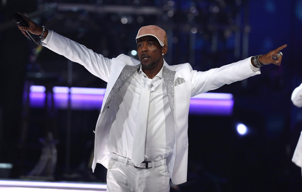 . Ralph Tresvant, of New Edition, performs at the BET Awards at the Microsoft Theater on Sunday, June 25, 2017, in Los Angeles. (Photo by Matt Sayles/Invision/AP)