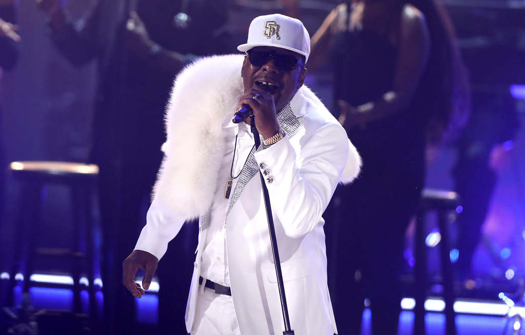 . Bobby Brown, of New Edition, performs at the BET Awards at the Microsoft Theater on Sunday, June 25, 2017, in Los Angeles. (Photo by Matt Sayles/Invision/AP)