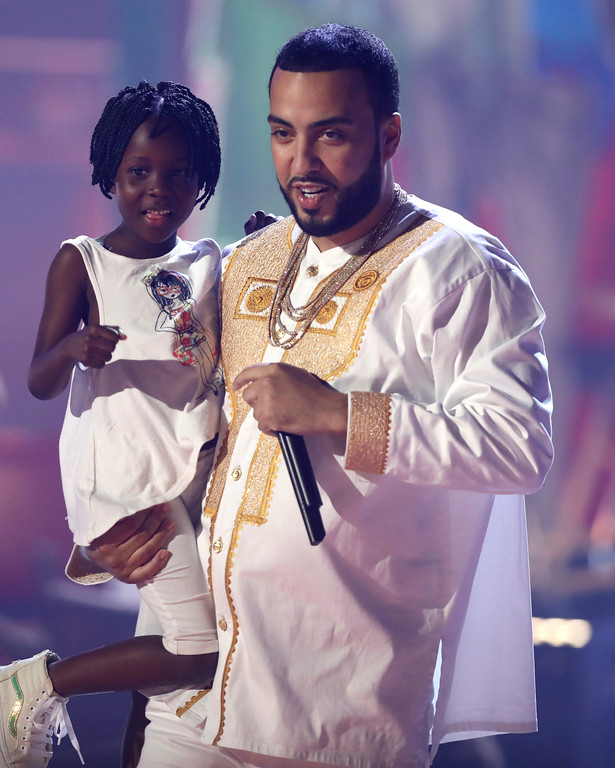 . French Montana performs at the BET Awards at the Microsoft Theater on Sunday, June 25, 2017, in Los Angeles. (Photo by Matt Sayles/Invision/AP)