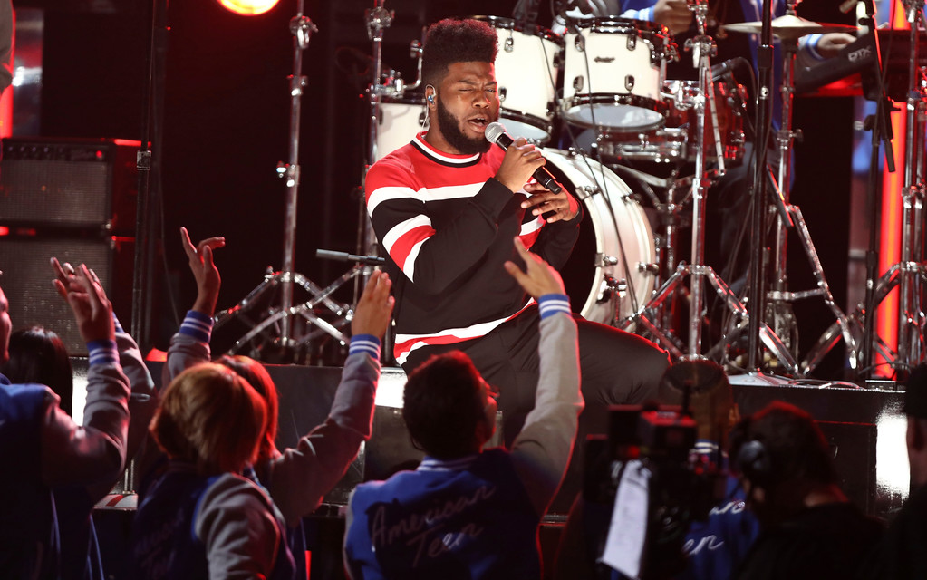 . Khalid performs at the BET Awards at the Microsoft Theater on Sunday, June 25, 2017, in Los Angeles. (Photo by Matt Sayles/Invision/AP)