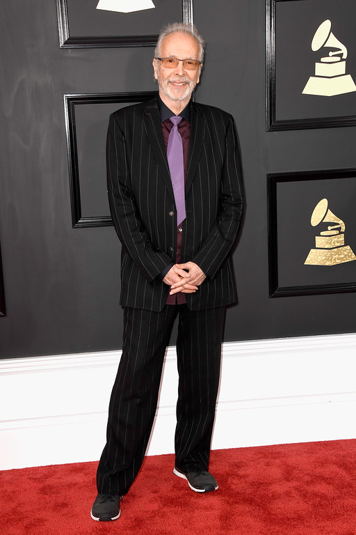 . LOS ANGELES, CA - FEBRUARY 12:  Musician Herb Alpert attends The 59th GRAMMY Awards at STAPLES Center on February 12, 2017 in Los Angeles, California.  (Photo by Frazer Harrison/Getty Images)