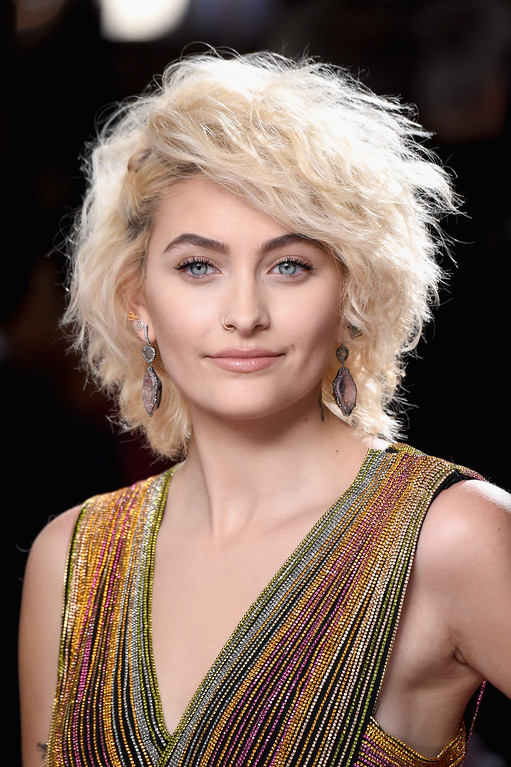 . LOS ANGELES, CA - FEBRUARY 12:  Paris Jackson attends The 59th GRAMMY Awards at STAPLES Center on February 12, 2017 in Los Angeles, California.  (Photo by Frazer Harrison/Getty Images)