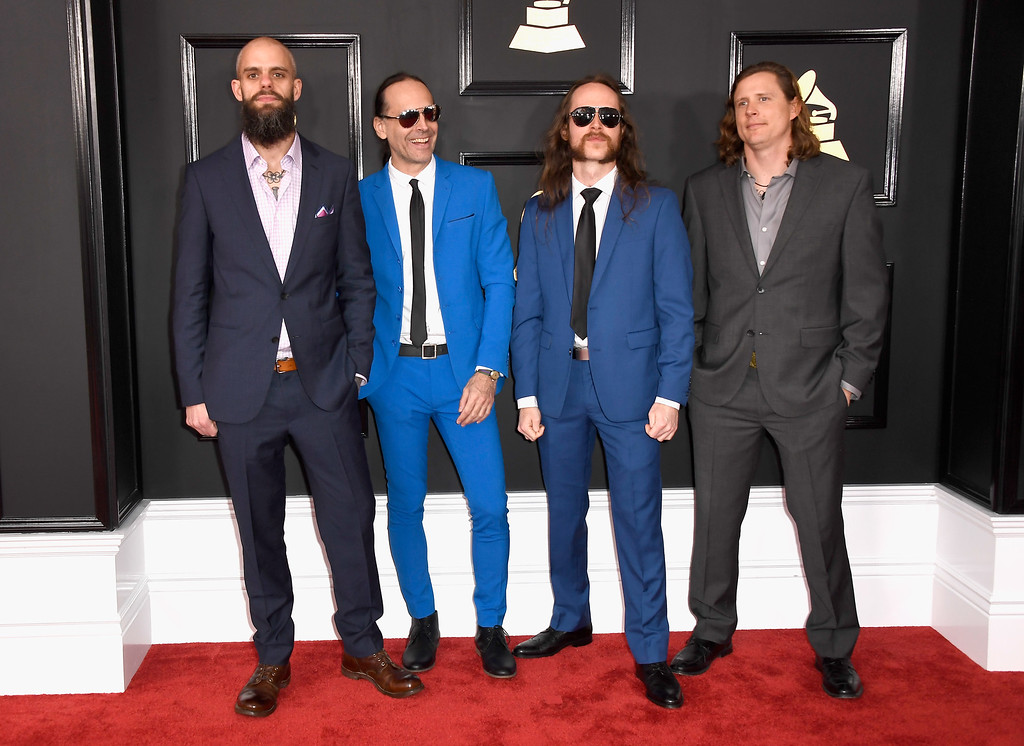 . LOS ANGELES, CA - FEBRUARY 12:  Music group Baroness attends The 59th GRAMMY Awards at STAPLES Center on February 12, 2017 in Los Angeles, California.  (Photo by Frazer Harrison/Getty Images)