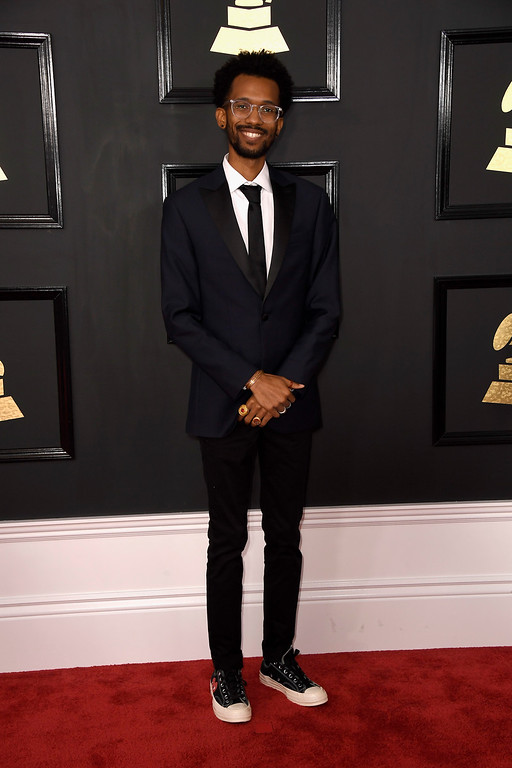 . LOS ANGELES, CA - FEBRUARY 12:  Musician Cam O\'bi attends The 59th GRAMMY Awards at STAPLES Center on February 12, 2017 in Los Angeles, California.  (Photo by Frazer Harrison/Getty Images)