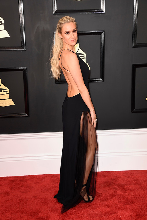 . LOS ANGELES, CA - FEBRUARY 12:  Tv personality Kristin Cavallari attends The 59th GRAMMY Awards at STAPLES Center on February 12, 2017 in Los Angeles, California.  (Photo by Frazer Harrison/Getty Images)