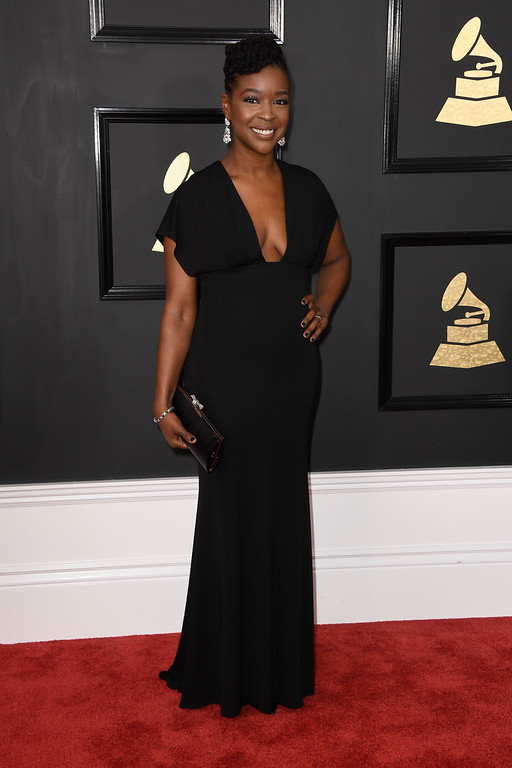 . LOS ANGELES, CA - FEBRUARY 12:  Rachel Cato attends The 59th GRAMMY Awards at STAPLES Center on February 12, 2017 in Los Angeles, California.  (Photo by Frazer Harrison/Getty Images)