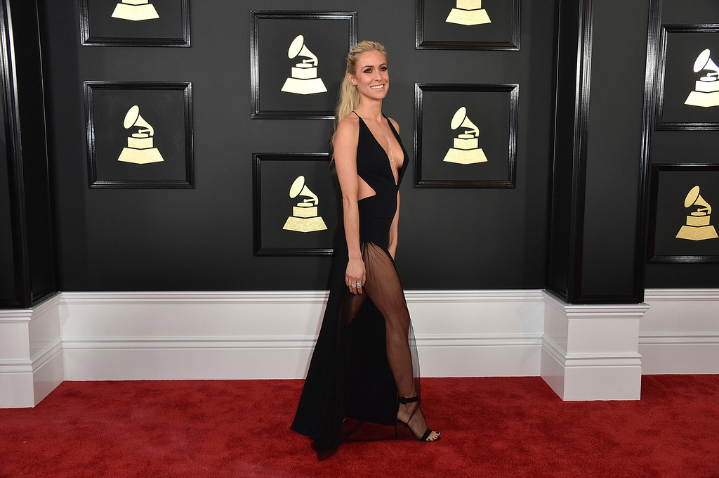 . Kristin Cavallari arrives at the 59th annual Grammy Awards at the Staples Center on Sunday, Feb. 12, 2017, in Los Angeles. (Photo by Jordan Strauss/Invision/AP)