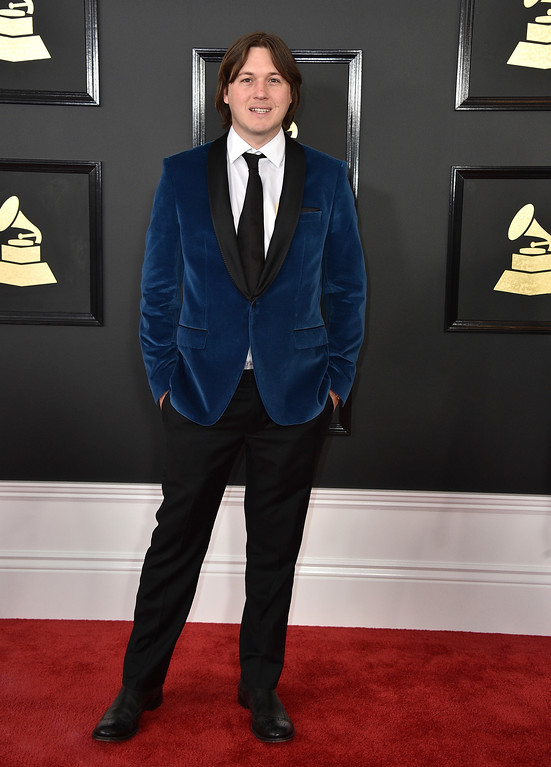 . Brent Almond arrives at the 59th annual Grammy Awards at the Staples Center on Sunday, Feb. 12, 2017, in Los Angeles. (Photo by Jordan Strauss/Invision/AP)