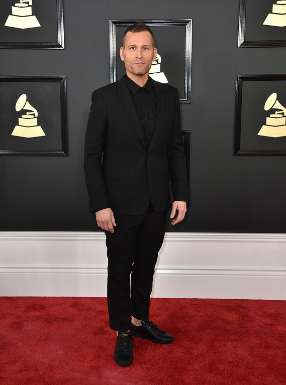 . Kaskade arrives at the 59th annual Grammy Awards at the Staples Center on Sunday, Feb. 12, 2017, in Los Angeles. (Photo by Jordan Strauss/Invision/AP)