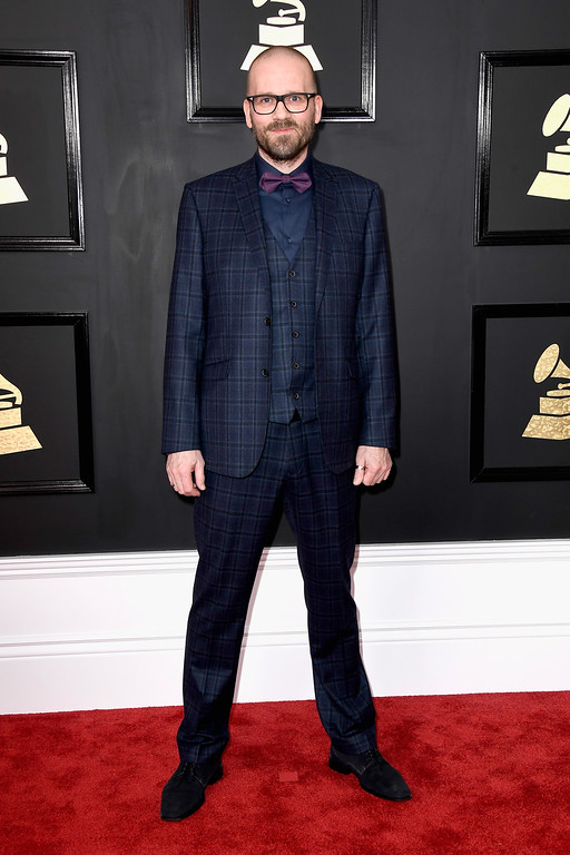 . LOS ANGELES, CA - FEBRUARY 12:  Audio engineer Morten Lindberg attends The 59th GRAMMY Awards at STAPLES Center on February 12, 2017 in Los Angeles, California.  (Photo by Frazer Harrison/Getty Images)