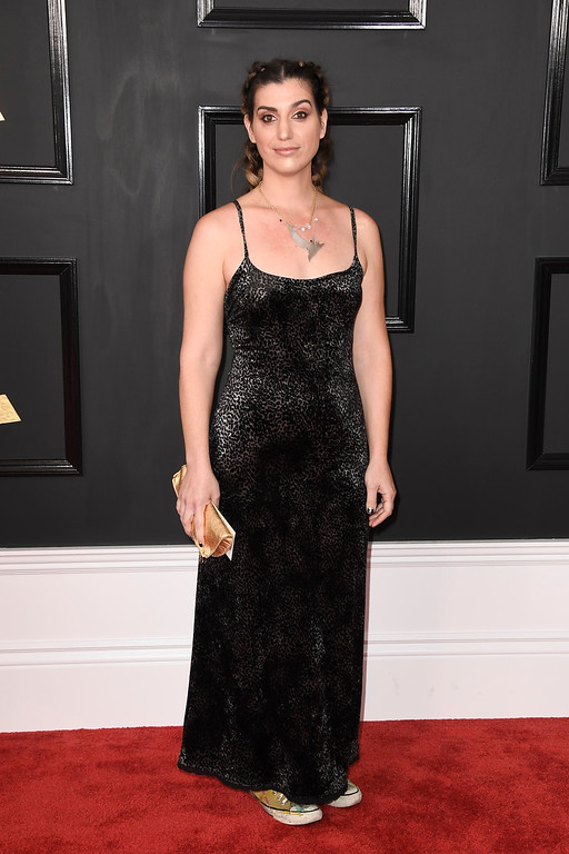 . LOS ANGELES, CA - FEBRUARY 12:  Artist Diva Zappa attends The 59th GRAMMY Awards at STAPLES Center on February 12, 2017 in Los Angeles, California.  (Photo by Frazer Harrison/Getty Images)