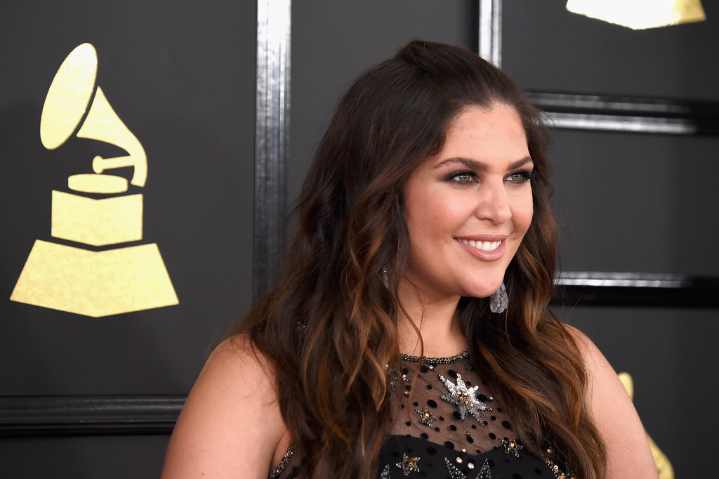 . LOS ANGELES, CA - FEBRUARY 12:  Singer Hillary Scott of Lady Antebellum attends The 59th GRAMMY Awards at STAPLES Center on February 12, 2017 in Los Angeles, California.  (Photo by Frazer Harrison/Getty Images)