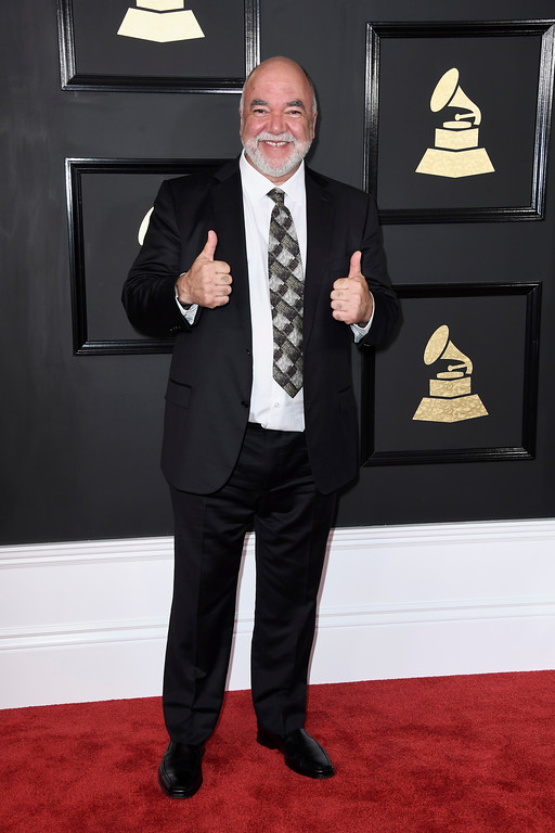 . LOS ANGELES, CA - FEBRUARY 12:  Musician Peter Erskine attends The 59th GRAMMY Awards at STAPLES Center on February 12, 2017 in Los Angeles, California.  (Photo by Frazer Harrison/Getty Images)