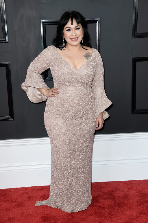 . LOS ANGELES, CA - FEBRUARY 12:  Singer Carla Morrison attends The 59th GRAMMY Awards at STAPLES Center on February 12, 2017 in Los Angeles, California.  (Photo by Frazer Harrison/Getty Images)