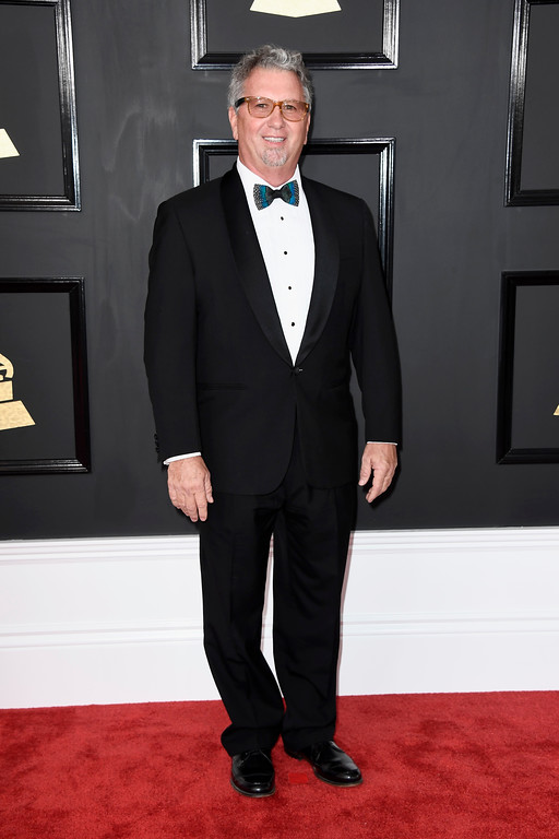 . LOS ANGELES, CA - FEBRUARY 12:  Producer John O\'Grady attends The 59th GRAMMY Awards at STAPLES Center on February 12, 2017 in Los Angeles, California.  (Photo by Frazer Harrison/Getty Images)