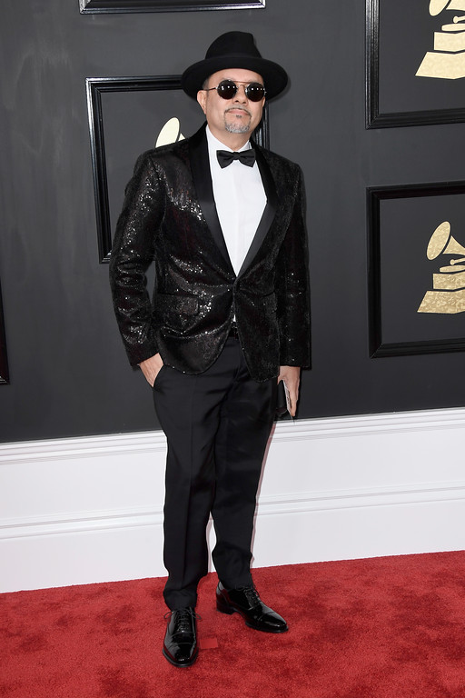 . LOS ANGELES, CA - FEBRUARY 12:  Musician Louie Vega attends The 59th GRAMMY Awards at STAPLES Center on February 12, 2017 in Los Angeles, California.  (Photo by Frazer Harrison/Getty Images)