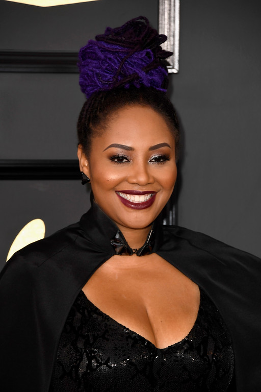 . LOS ANGELES, CA - FEBRUARY 12:  Singer Lalah Hathaway attends The 59th GRAMMY Awards at STAPLES Center on February 12, 2017 in Los Angeles, California.  (Photo by Frazer Harrison/Getty Images)