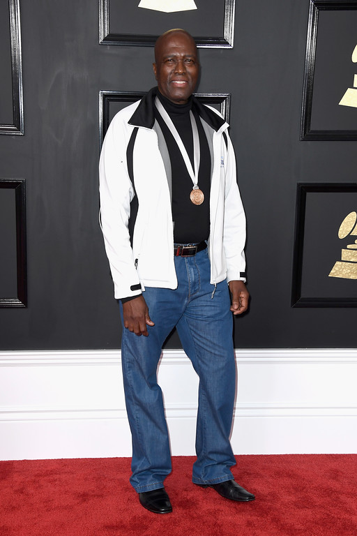 . LOS ANGELES, CA - FEBRUARY 12:  Singer Albert Mazibuko attends The 59th GRAMMY Awards at STAPLES Center on February 12, 2017 in Los Angeles, California.  (Photo by Frazer Harrison/Getty Images)