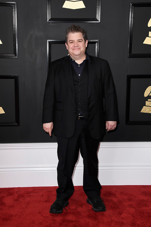 . LOS ANGELES, CA - FEBRUARY 12:  Comedian Patton Oswalt attends The 59th GRAMMY Awards at STAPLES Center on February 12, 2017 in Los Angeles, California.  (Photo by Frazer Harrison/Getty Images)