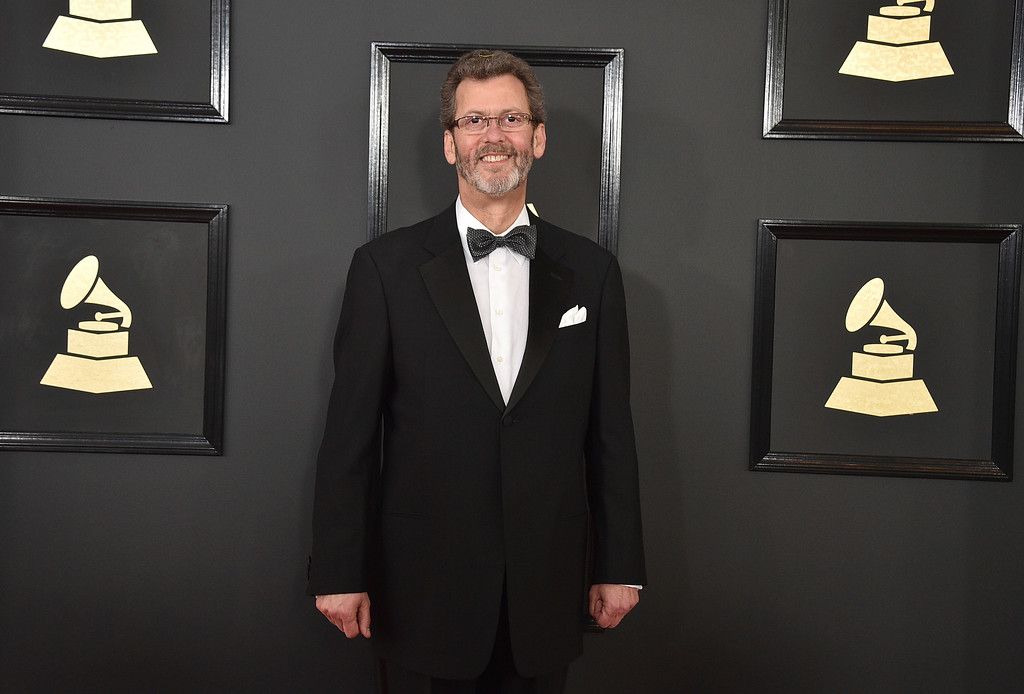. Blanton Alspaugh arrives at the 59th annual Grammy Awards at the Staples Center on Sunday, Feb. 12, 2017, in Los Angeles. (Photo by Jordan Strauss/Invision/AP)