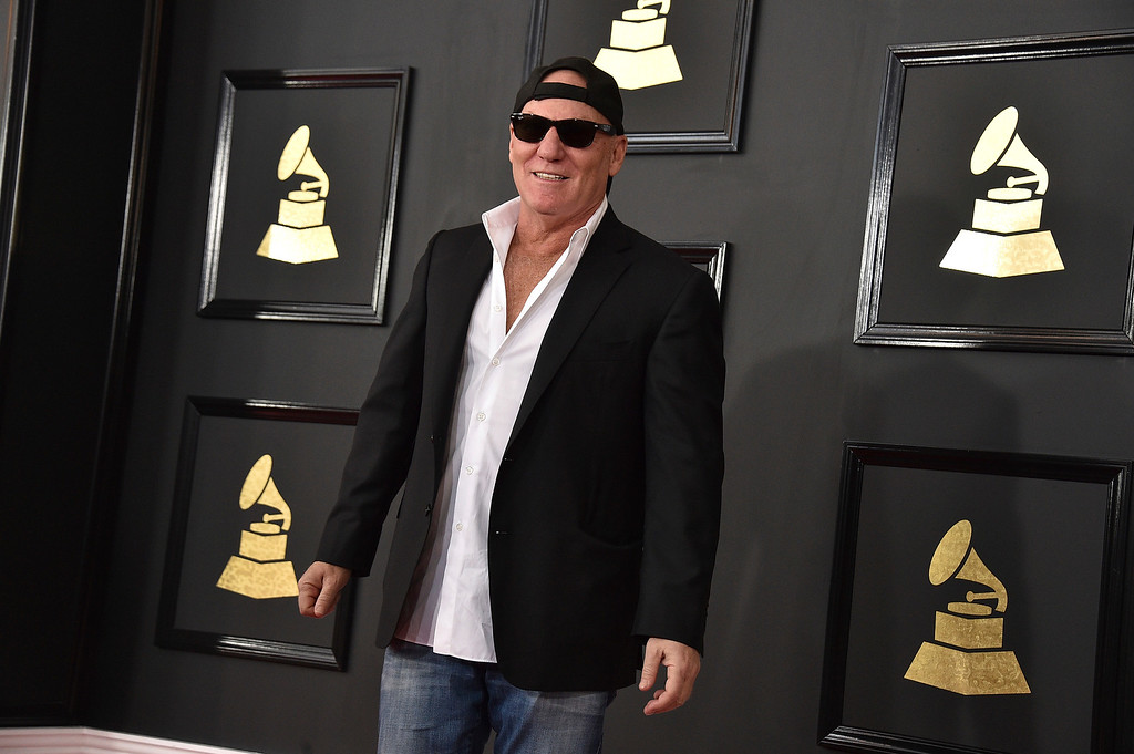 . Steve Madden arrives at the 59th annual Grammy Awards at the Staples Center on Sunday, Feb. 12, 2017, in Los Angeles. (Photo by Jordan Strauss/Invision/AP)