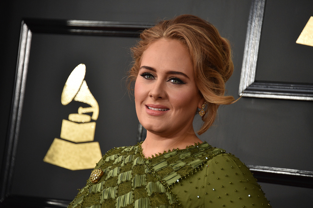 . Adele arrives at the 59th annual Grammy Awards at the Staples Center on Sunday, Feb. 12, 2017, in Los Angeles. (Photo by Jordan Strauss/Invision/AP)