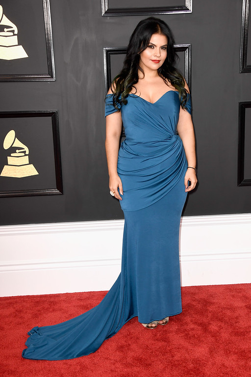 . LOS ANGELES, CA - FEBRUARY 12:  Singer VASSY attends The 59th GRAMMY Awards at STAPLES Center on February 12, 2017 in Los Angeles, California.  (Photo by Frazer Harrison/Getty Images)