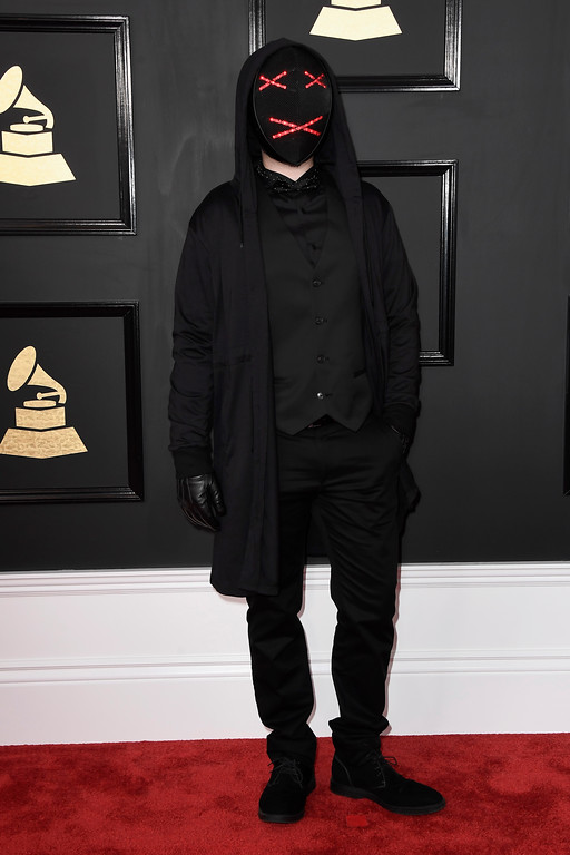 . LOS ANGELES, CA - FEBRUARY 12:  Musician Lipless attends The 59th GRAMMY Awards at STAPLES Center on February 12, 2017 in Los Angeles, California.  (Photo by Frazer Harrison/Getty Images)