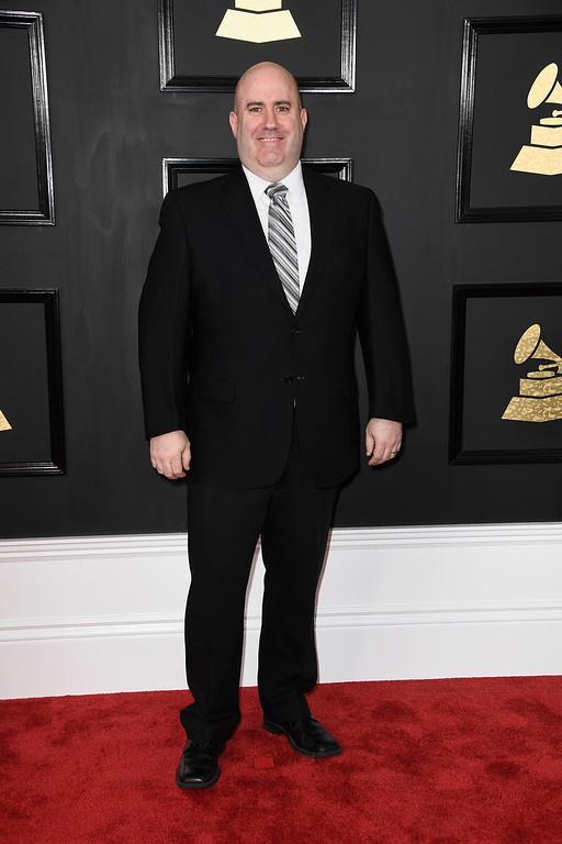 . LOS ANGELES, CA - FEBRUARY 12:  Audio engineer Mark Donahue attends The 59th GRAMMY Awards at STAPLES Center on February 12, 2017 in Los Angeles, California.  (Photo by Frazer Harrison/Getty Images)