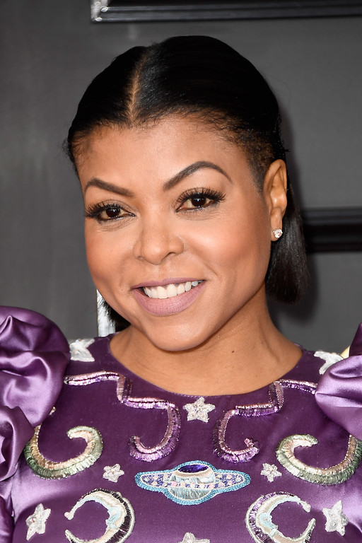 . LOS ANGELES, CA - FEBRUARY 12:  Actor Taraji P. Henson attends The 59th GRAMMY Awards at STAPLES Center on February 12, 2017 in Los Angeles, California.  (Photo by Frazer Harrison/Getty Images)