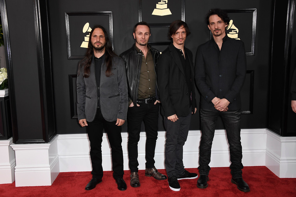 . LOS ANGELES, CA - FEBRUARY 12:  Music group Gojira attends The 59th GRAMMY Awards at STAPLES Center on February 12, 2017 in Los Angeles, California.  (Photo by Frazer Harrison/Getty Images)