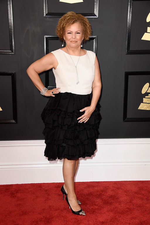 . LOS ANGELES, CA - FEBRUARY 12:  BET CEO Debra L. Lee attends The 59th GRAMMY Awards at STAPLES Center on February 12, 2017 in Los Angeles, California.  (Photo by Frazer Harrison/Getty Images)