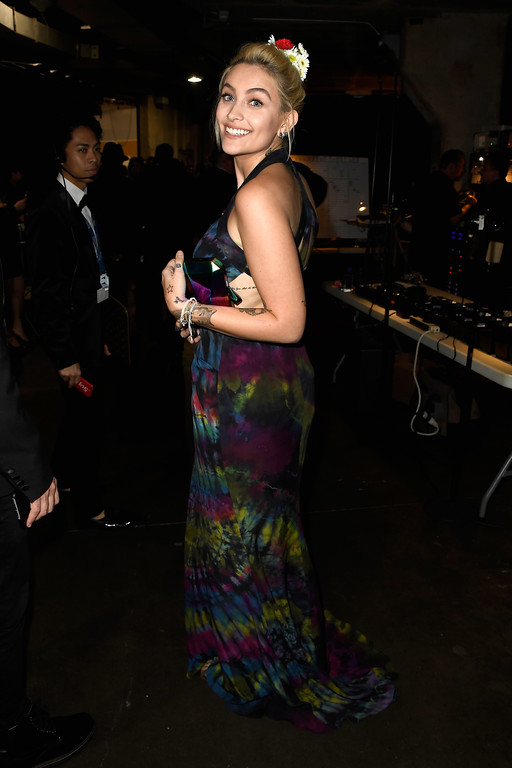. LOS ANGELES, CA - FEBRUARY 12:  Paris Jackson attends The 59th GRAMMY Awards at STAPLES Center on February 12, 2017 in Los Angeles, California.  (Photo by Frazer Harrison/Getty Images for NARAS)