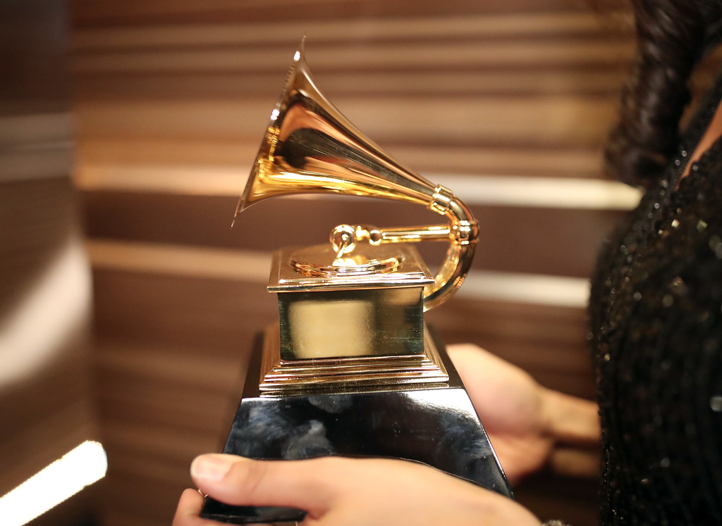 . LOS ANGELES, CA - FEBRUARY 12: GRAMMY Award being held at The 59th GRAMMY Awards at STAPLES Center on February 12, 2017 in Los Angeles, California.  (Photo by Christopher Polk/Getty Images for NARAS)