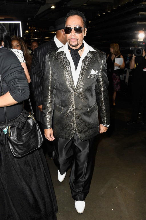 . LOS ANGELES, CA - FEBRUARY 12:  Singer Morris Day of The Time attends The 59th GRAMMY Awards at STAPLES Center on February 12, 2017 in Los Angeles, California.  (Photo by Frazer Harrison/Getty Images for NARAS)