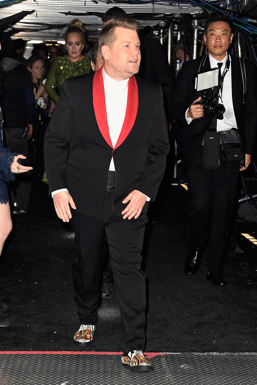 . LOS ANGELES, CA - FEBRUARY 12:  Host James Corden attends The 59th GRAMMY Awards at STAPLES Center on February 12, 2017 in Los Angeles, California.  (Photo by Frazer Harrison/Getty Images for NARAS)