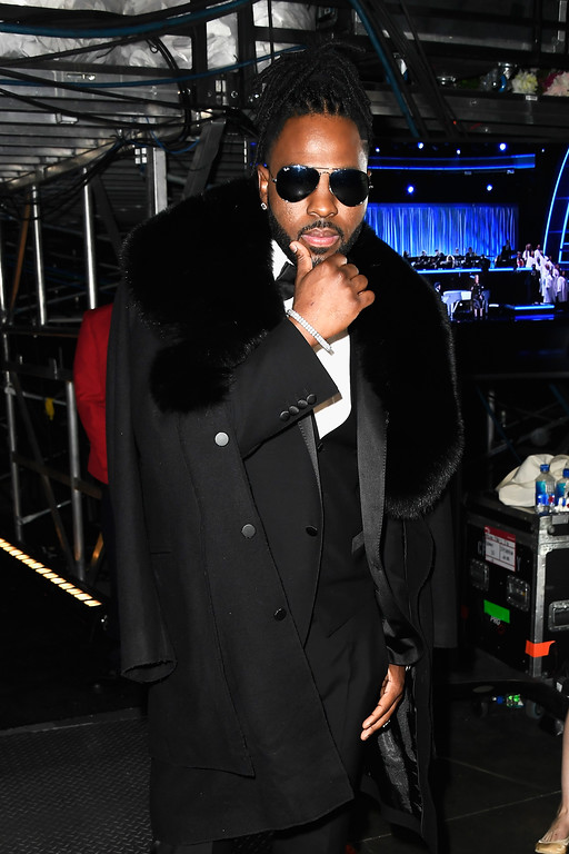 . LOS ANGELES, CA - FEBRUARY 12:   Recording artist Jason Derulo attends The 59th GRAMMY Awards at STAPLES Center on February 12, 2017 in Los Angeles, California.  (Photo by Frazer Harrison/Getty Images for NARAS)