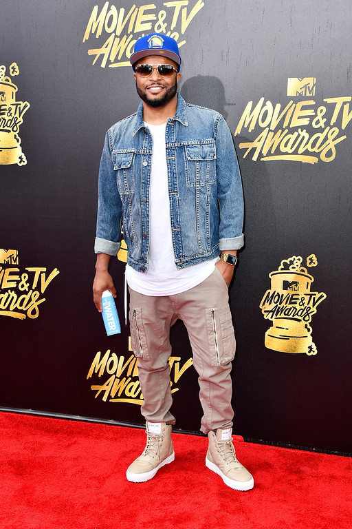 . LOS ANGELES, CA - MAY 07:  DJ D-Wrek attends the 2017 MTV Movie And TV Awards at The Shrine Auditorium on May 7, 2017 in Los Angeles, California.  (Photo by Frazer Harrison/Getty Images)