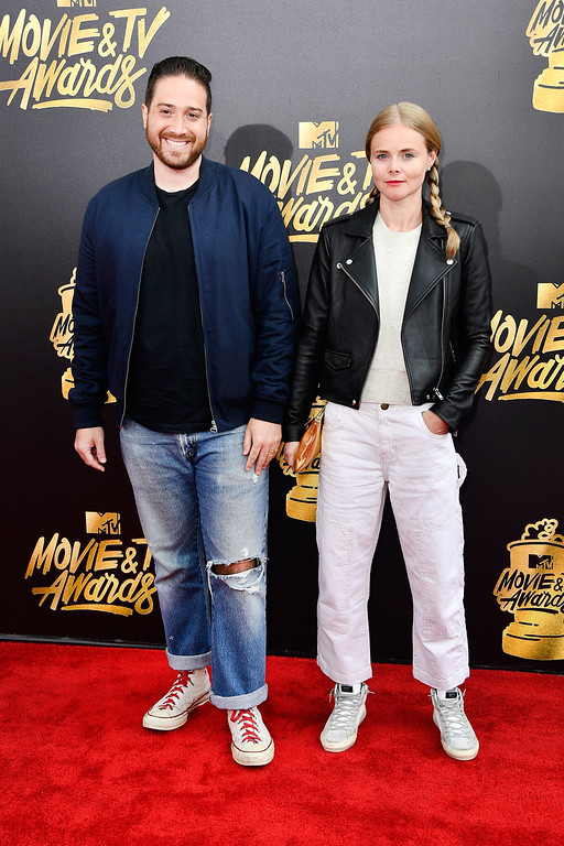 . LOS ANGELES, CA - MAY 07:  Filmmakers Jenner Furst (L) and Julia Willoughby Nason attend the 2017 MTV Movie And TV Awards at The Shrine Auditorium on May 7, 2017 in Los Angeles, California.  (Photo by Frazer Harrison/Getty Images)