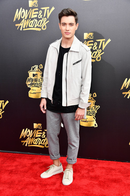 . LOS ANGELES, CA - MAY 07:  Internet personality Gabriel Conte attends the 2017 MTV Movie And TV Awards at The Shrine Auditorium on May 7, 2017 in Los Angeles, California.  (Photo by Frazer Harrison/Getty Images)