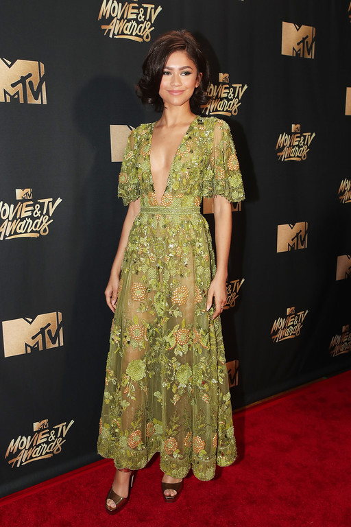 . LOS ANGELES, CA - MAY 07:  Zendaya attends the 2017 MTV Movie And TV Awards at The Shrine Auditorium on May 7, 2017 in Los Angeles, California.  (Photo by Christopher Polk/Getty Images)