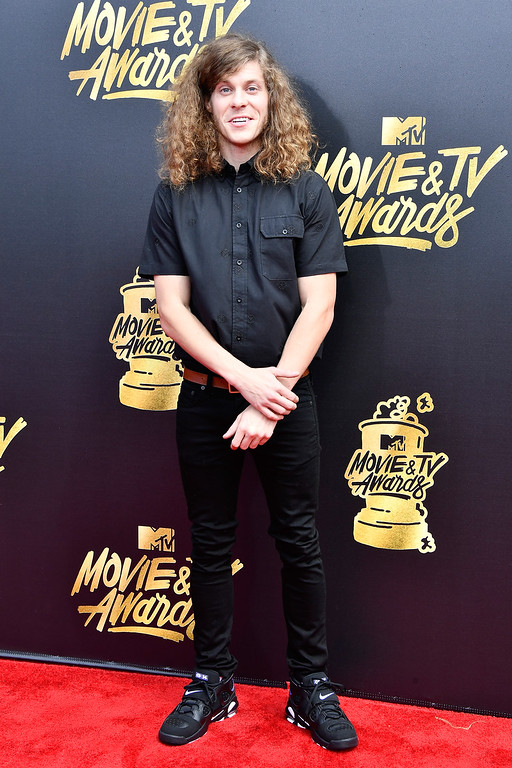 . LOS ANGELES, CA - MAY 07:  Actor Blake Anderson attends the 2017 MTV Movie And TV Awards at The Shrine Auditorium on May 7, 2017 in Los Angeles, California.  (Photo by Frazer Harrison/Getty Images)