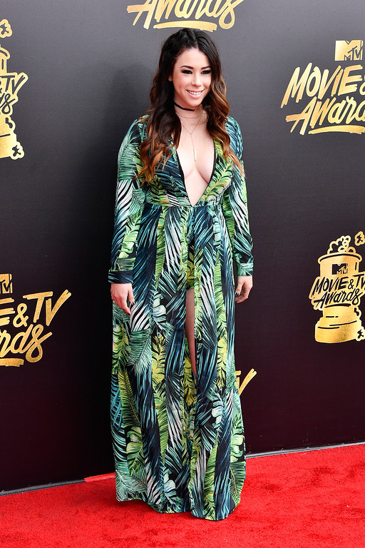 . LOS ANGELES, CA - MAY 07:  Actor Jillian Rose Reed attends the 2017 MTV Movie And TV Awards at The Shrine Auditorium on May 7, 2017 in Los Angeles, California.  (Photo by Frazer Harrison/Getty Images)