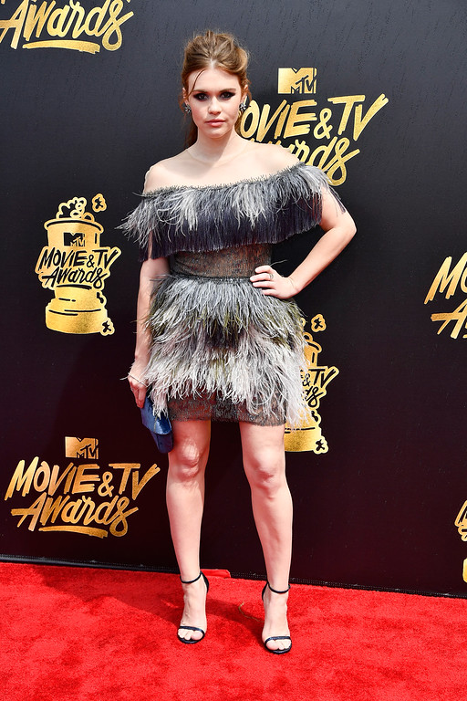 . LOS ANGELES, CA - MAY 07:  Actor Holland Roden attends the 2017 MTV Movie And TV Awards at The Shrine Auditorium on May 7, 2017 in Los Angeles, California.  (Photo by Frazer Harrison/Getty Images)