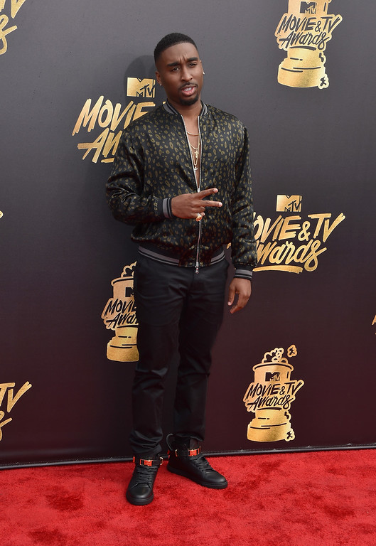 . LOS ANGELES, CA - MAY 07:  Actor Demetrius Shipp Jr. attends the 2017 MTV Movie And TV Awards at The Shrine Auditorium on May 7, 2017 in Los Angeles, California.  (Photo by Alberto E. Rodriguez/Getty Images)