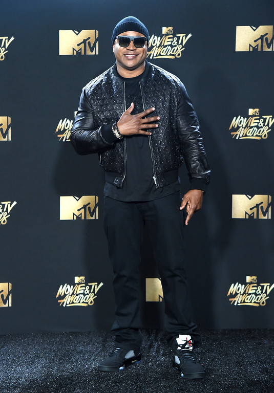 . LL Cool J arrives at the MTV Movie and TV Awards at the Shrine Auditorium on Sunday, May 7, 2017, in Los Angeles. (Photo by Richard Shotwell/Invision/AP)