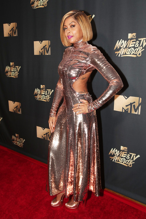 . LOS ANGELES, CA - MAY 07:  Actor Taraji P. Henson attends the 2017 MTV Movie And TV Awards at The Shrine Auditorium on May 7, 2017 in Los Angeles, California.  (Photo by Christopher Polk/Getty Images)