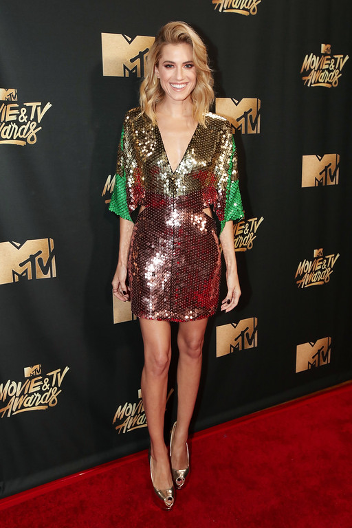 . LOS ANGELES, CA - MAY 07:  Actor Allison Williams attends the 2017 MTV Movie And TV Awards at The Shrine Auditorium on May 7, 2017 in Los Angeles, California.  (Photo by Christopher Polk/Getty Images)
