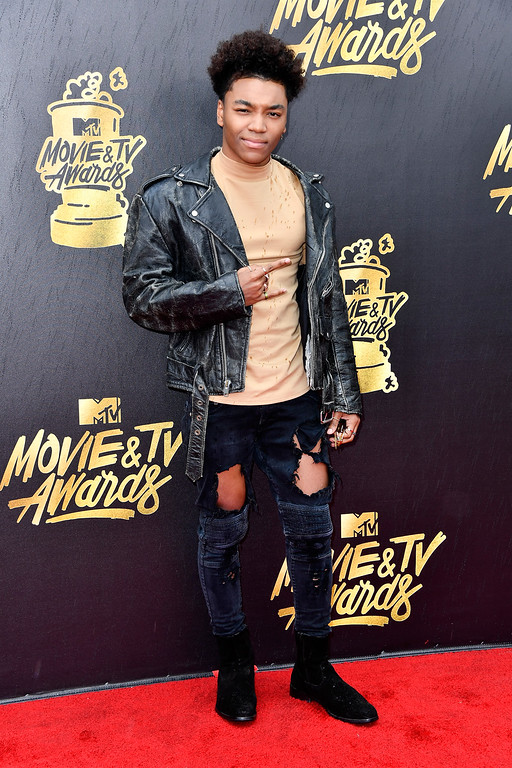 . LOS ANGELES, CA - MAY 07:  Singer Josh Levi attends the 2017 MTV Movie And TV Awards at The Shrine Auditorium on May 7, 2017 in Los Angeles, California.  (Photo by Frazer Harrison/Getty Images)